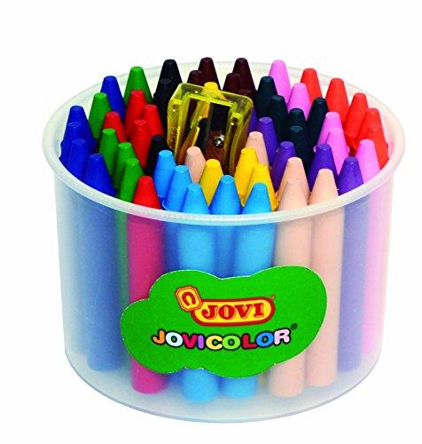 Jovicolor 980 - Ceras, bolsa de 60 unidades, multicolor