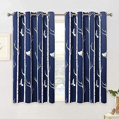 KGORGE Bedroom Blackout Curtains Set - Contempo...