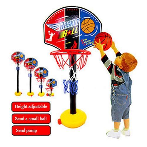 Canasta Baloncesto Infantil,Infantil Tablero Baloncesto Juego Al Aire Libre Y Interior Oficina Habitación Jardín Aro Baloncesto para Niños Y Adultos