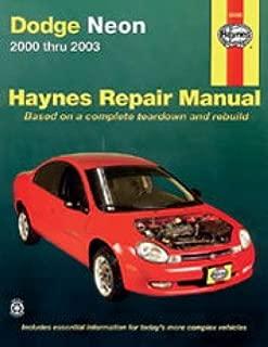 NOS-H30036 Haynes Dodge Neon 2000-2003 Auto Repair Manual