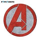 PopSockets Funda de Agarre expandible con Soporte para Smartphones y Tablets - Marvel...