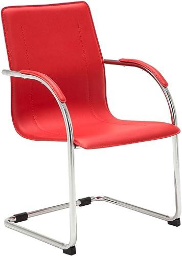Chaise de Salle à Manger Melina Similicuir I Chaise Cantilever pour Zone d'Attente ou Conférence avec Accoudoir I Cha...