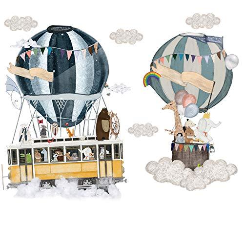 hot air balloon decal - 4