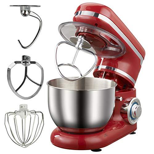 Multifunctionele keukenmachine - 1200W - 7 roerniveaus - Inclusief 3 accessoires - H-klopper - garde - deeghaak - elektrische mixer 4L