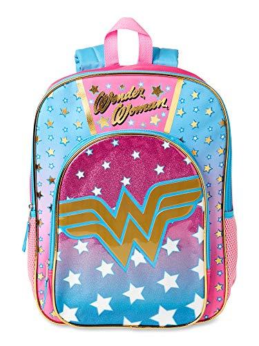 "16"" Girls Wonder Woman Backpack"