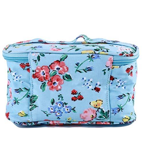 JoyRolly Tragbare Speicherorganisator Mesh Make-up kosmetische quadratische Reise waschen Beutel Aufbewahrungstasche Handtasche Color2