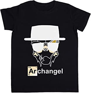 Rundi I Am The Archangel Unisexo Niño Niña Camiseta Negro Todos Los Tamaños - Unisex Kids Boys Girls's T-Shirt Black