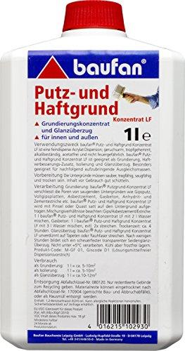 Baufan Putz und Haftgrund, Kunstharz-Dispersion, 1 l