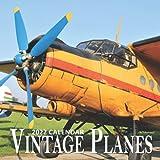 Vintage Plane Calendar 2022: 16 Months Planner (Sept 2021 to Dec 2022): Vintage Plane Gifts