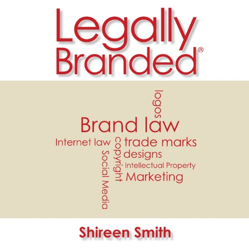 Legally Branded audiobook cover art