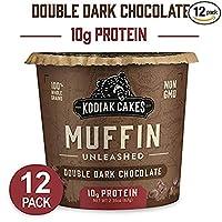 コディアック Kodiak プロテイン マフィン ミックス 【12個】ダブルダークチョコレート 味 Double Dark Chocolate【並行輸入品】