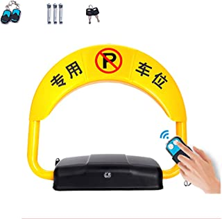 MORN Parking Barrier Parking Lock Anti Theft Parking Barrier Lock, Space Saver w/ 2 Remote Control as Barrier for Cars, Height: 70-390mm