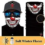 [ Winter-Fleece] Bedrucktes Multifunktionstuch Bandana Halstuch Kopftuch: Face Shield- Material ist...