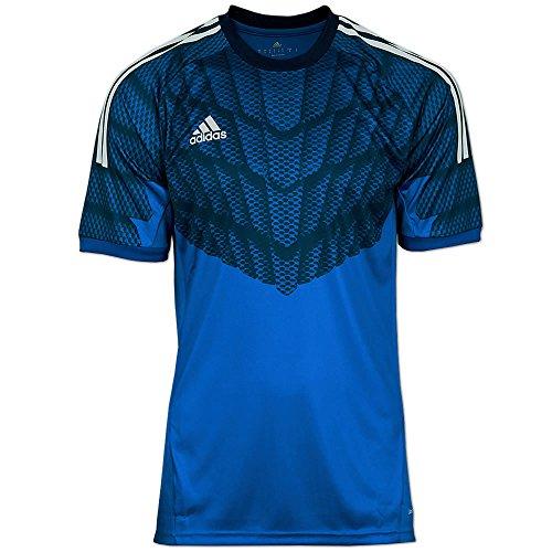 adidas Herren Goalkeeper Jersey - Torwart Trikot Adizero blau (blau, 4)
