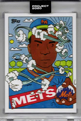 Topps Project 2020 Baseball Card #38 1985 Dwight Gooden by Ermsy - Only 1,864 made!
