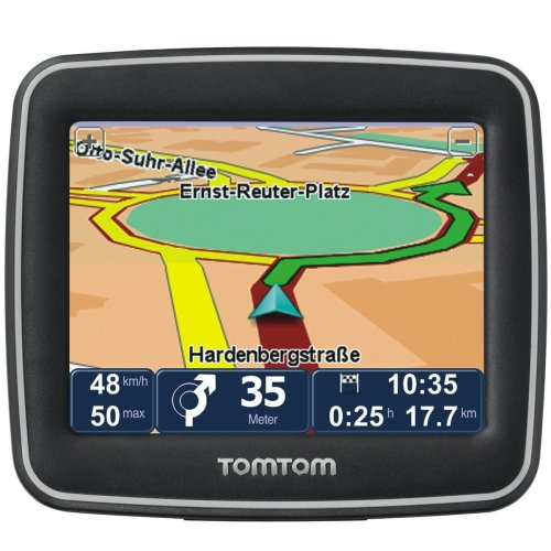 TomTom Start 2 IQ Routes Centraal Europa Traffic navigatiesysteem incl. TMC (8,9 cm (3,5 inch) display, 19 landkaarten, rijstrookassistent, tekstto-Speech)