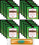 Twinings Discovery Collection Mango and Ginger Green Tea 20 Large Leaf Pyramid Tea Bags with By The Cup Honey Sticks