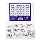 BOJACK 12 Valori 60 pezzi Oscillatore al cristallo di quarzo 4, 4.096, 6, 8, 10, 11.0592, 12, 16, 20, 22.1184, 24, 48 MHz Kit assortimento risonatori di cristallo