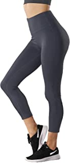 TYUIO High Waist Yoga Pants for Women Exercise Workout Running Pants Athletic Capris