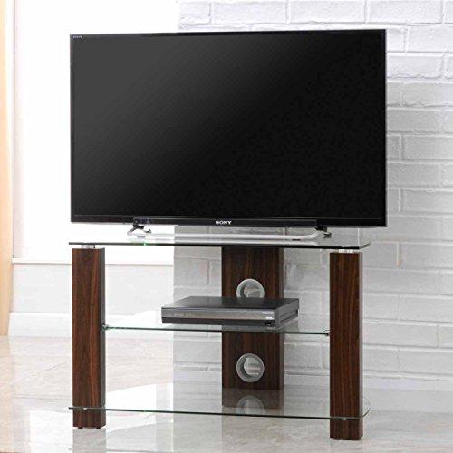 TNW 36561Outdoor Vision 800Ecke TV Stand, Walnuss
