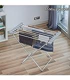 InnovaGoods Séchoir électrique, Aluminium et ABS, Argent, 94x 74x 50cm