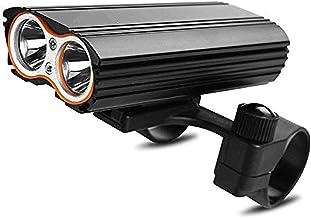 Fietslicht-oplaadbare fietsverlichting Display Koplamp Achterlichtcombinaties Road Fietsen Commuter Zaklamp
