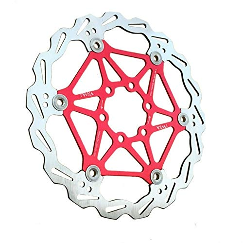 LonelyCamel Bicycle Mountain Bike Floating Brake Disc Brake 180mm (Color : Red)