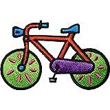 Parche bordado para planchar o coser en bicicleta, ropa de ciclismo, sombrero y pantalones