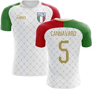 0d36397d0f7 Airosportswear 2018-2019 Italy Away Concept Football Soccer T-Shirt Jersey  (Fabio Cannavaro