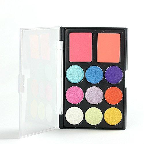 Pure Vie® 11 Colores Sombra De Ojos Corrector Rubor Paleta de Maquillaje Cosmética #3 - Perfecto para Sso Profesional y Diario