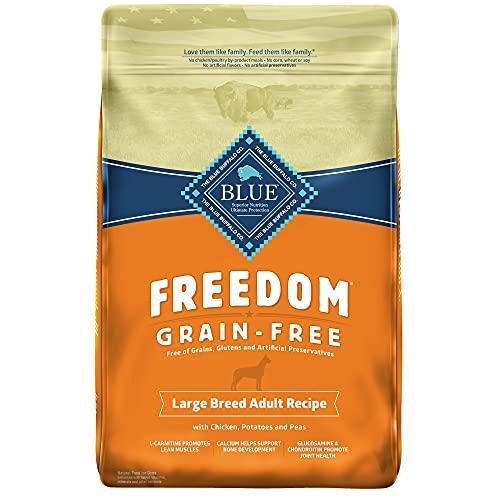 Blue Buffalo Large Breed Freedom Grain Free Chicken Recipe Dry Dog Food, 24-Pound