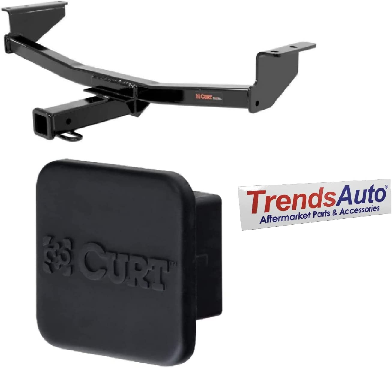 Curt 13204 22272 Class 35% OFF Easy-to-use 3 Trailer 2 Receiver Inch with and Hitch