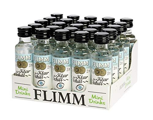 FLIMM Klar Schiff 20ml Miniflaschen im 25er Tray