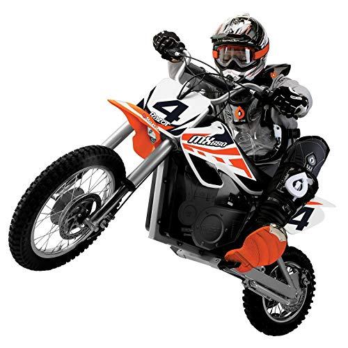 Razor MX650 Adult & Teen Dirt Rocket Ride On High-Torque Electric Motocross Motorcycle Dirt Bike, Speeds up to 17 MPH, Orange