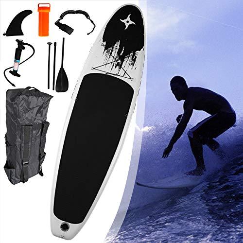 Aufblasbare Boards für Stand-Up Paddling, 11ft Lang, 32in Breit, 6in Dick, SUP-Boards, mit Kostenlosem SUP Zubehör, für Jugendliche Erwachsene. Viel Spaß in Fluss, Ozeanen und Seen