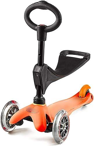 exclusivo Patineta Scooter Scooter Desmontable Scooter Ajustable Scooter Scooter Scooter portátil Adecuado para Niños de 1 a 5 años (Color   naranja)  promociones emocionantes