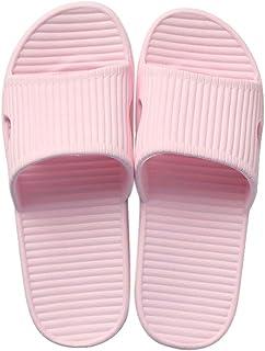 JoWebb Unisex Slip On Slippers for Women/Men Non-Slip Light Weight Flat Slide Sandals Shower Sandals House Soft Flip Flop ...
