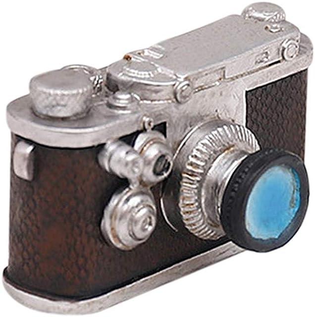 EisEyen - Adorno Retro Retro para cámaras de Fotos Modelo de teléfono decoración Antigua para el hogar o la Oficina Regalo Máquina fotográfica