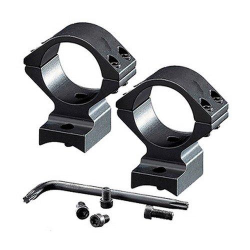 Browning, BAR/BLR Integrated Scope Mount System, 30mm, Intermediate, Gloss Black