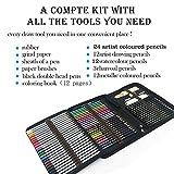 Zoom IMG-1 zzone matite colorate artistico kit