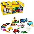 LEGO Classic Medium Creative Brick Box - 484 Piece with Baseplate by ToyHouse LLC