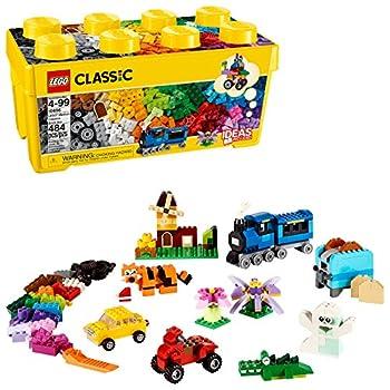LEGO Classic Medium Creative Brick Box 10696 Building Toys for Creative Play  Kids Creative Kit  484 Pieces