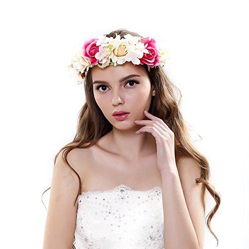 Corona de Ever Fairy/® de estilo griego r/ústico y natural