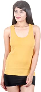 Strawberry Racer Back Tank ! Combed Cotton ! Comfortable fit Throughout Day ! Vibrant Assorted Colours ! Ideal to be Worn as a Loungewear, Innerwear, Casual Wear & Sportswear !