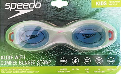 Speedo Kids Glide with Comfee Bungee Strap – Light Blue