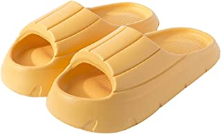 SalLady Bathroom Slippers Thick Sole Flexible Lightweight Unisex Nonslip Bathing Slippers Home Sandals Women Adults Man