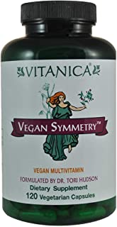 Vitanica - Vegan Symmetry, Vegan Multivitamin, 120 Capsules