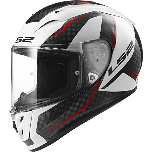 LS2 Helmets Arrow Carbon Fury Full Face Motorcycle Helmet