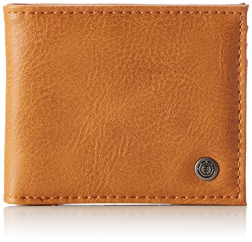Element Bowo - Cartera para Hombre, Color Marrón, Talla 1x7x9 cm (B x H x T)