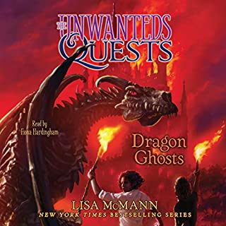 Dragon Ghosts     The Unwanteds Quests, Book 3              Written by:                                                                                                                                 Lisa McMann                               Narrated by:                                                                                                                                 Fiona Hardingham                      Length: 9 hrs and 57 mins     1 rating     Overall 5.0